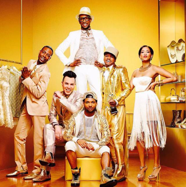Gold born to style cast-